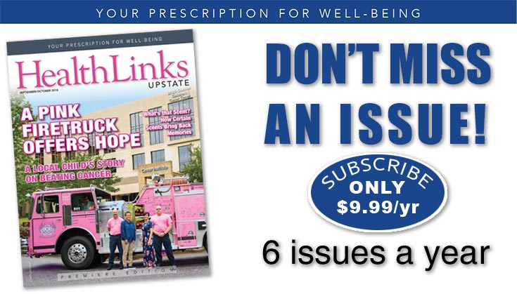 Subscribe to HealthLinks Upstate Magazine