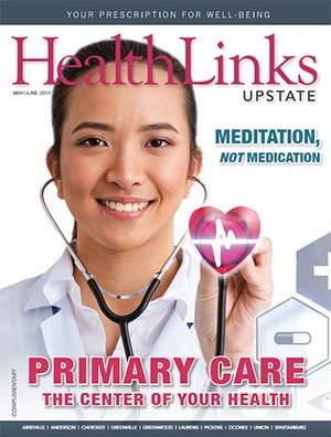 HealthLinks Upstate Magazine cover, May/June 2019 issue