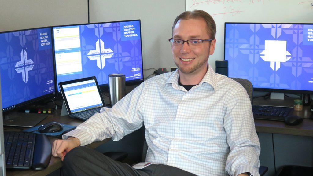 Eric Hart, IT at Spartanburg Regional Healthcare System