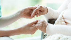 PruittHealth Hospice. Helping Hands.