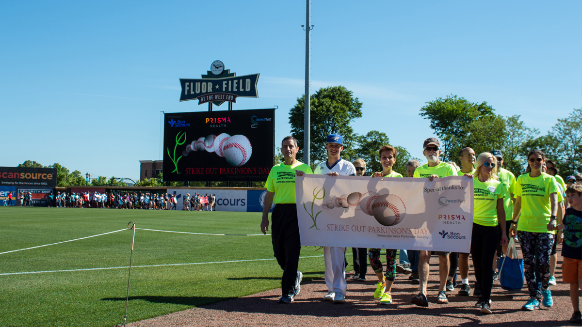 Strike Out Parkinson's Day at Fluor Field