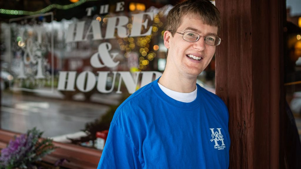 Josh standing in from The Hare & Hound pub