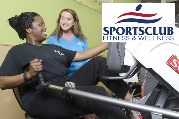 Sportsclub Fitness & Wellness with logo