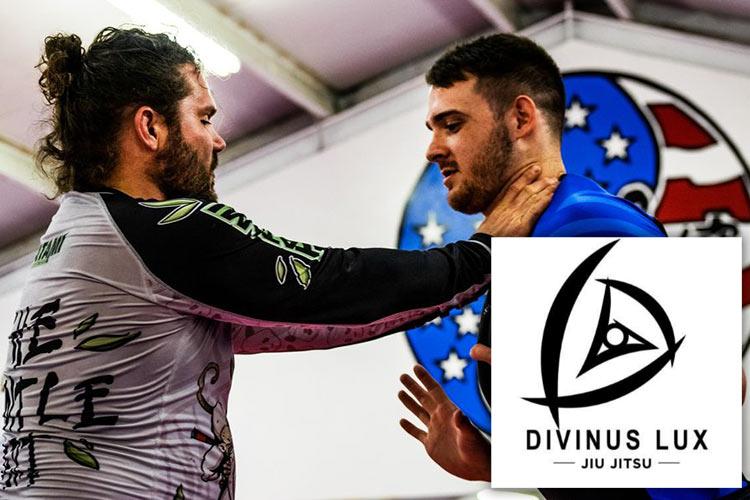 Divinus Lux Jiu Jitsu with logo