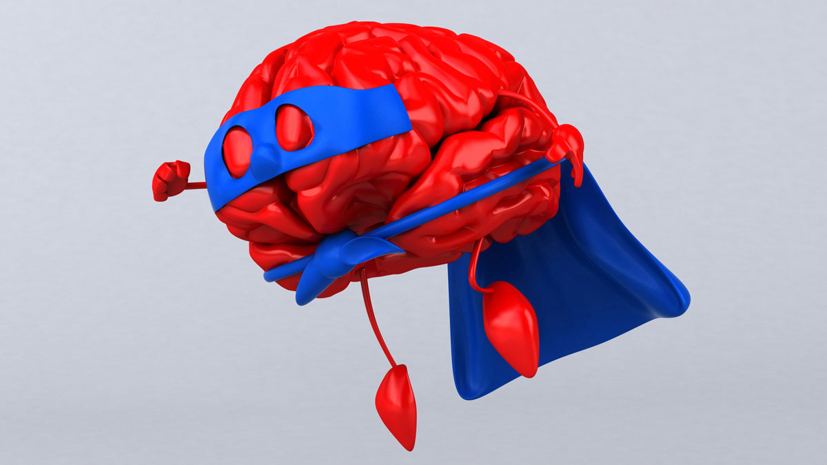 Graphic Brain Super Hero
