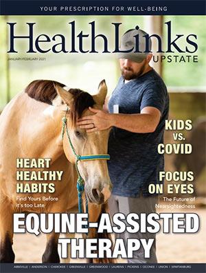 HealthLinks Upstate Magazine cover