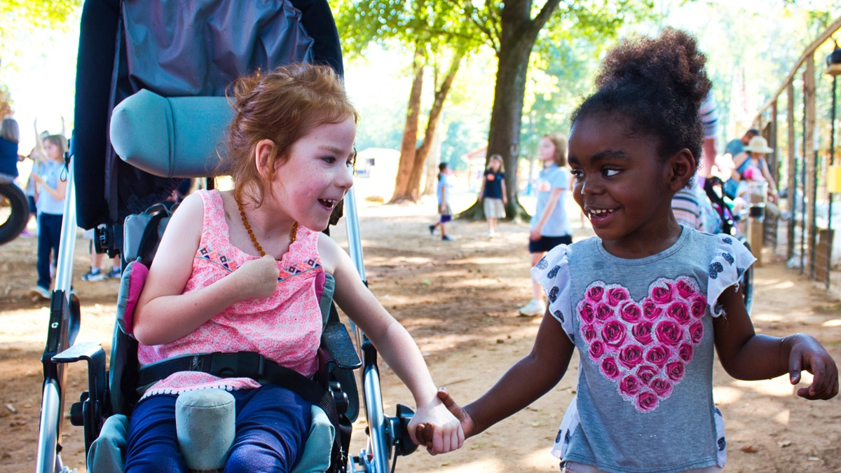 children with deafness or blindness