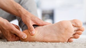 See a podiatrist for your foot problems