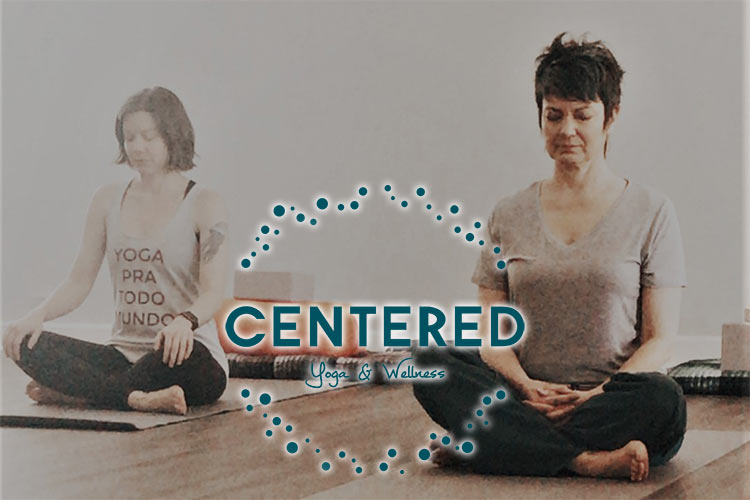 Chandra White seated. CENTERED Yoga & Wellness in Simpsonville, South Carolina.