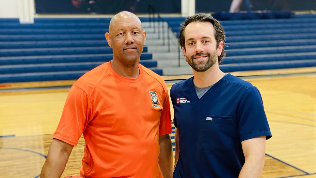 Coach gets his life back with spinal treatment