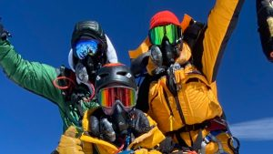 Everyday Everest is raising money for cancer research