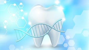 Graphic - Tooth with DNA