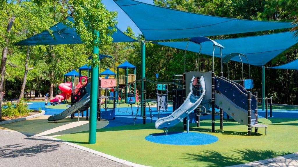 Inclusive playground for all children